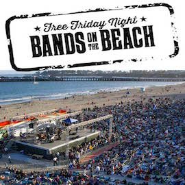 Santa Cruz Beach Boardwalk Bands on the Beach
