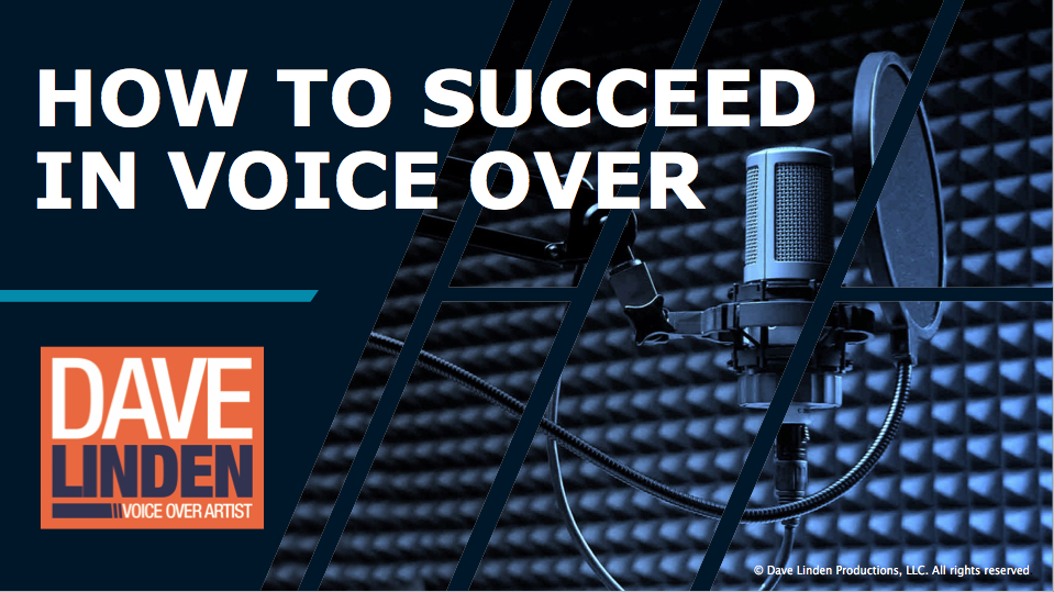 How to Succeed in Voice-Over