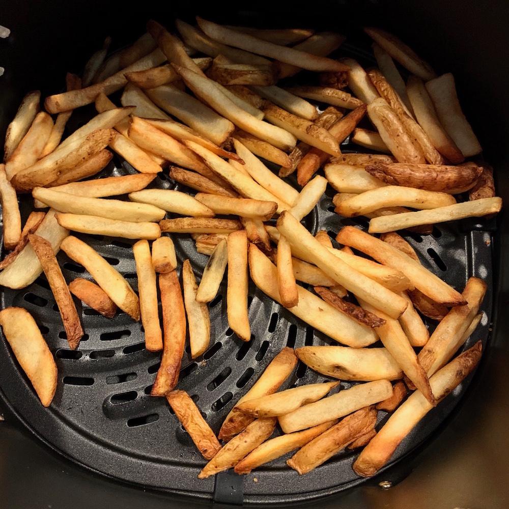 French Fries Made in My PowerXL Vortex AirFryer