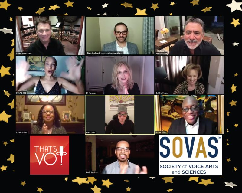 SOVAS That's Voiceover 2020 State of VO