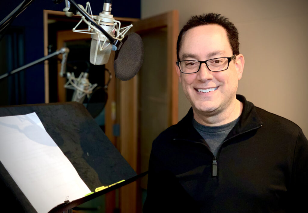 Professional Voiceover Actor Dave Linden